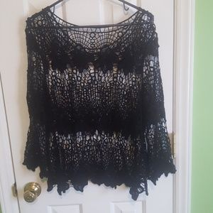 Tops - Lace over shirt